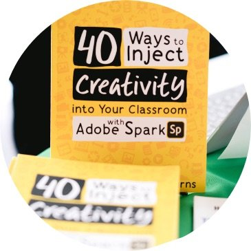 40 ways to inject creativity into your classroom book
