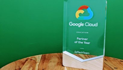 EdTechTeam Receives Google Cloud Education Partner of the Year Award
