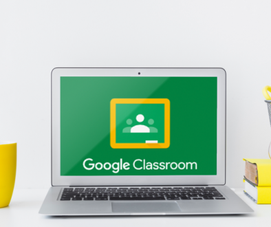 Google Classroom on a Computer