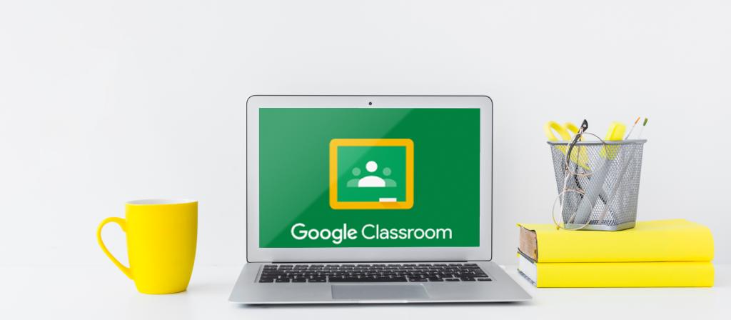 Google Classroom on a Computer